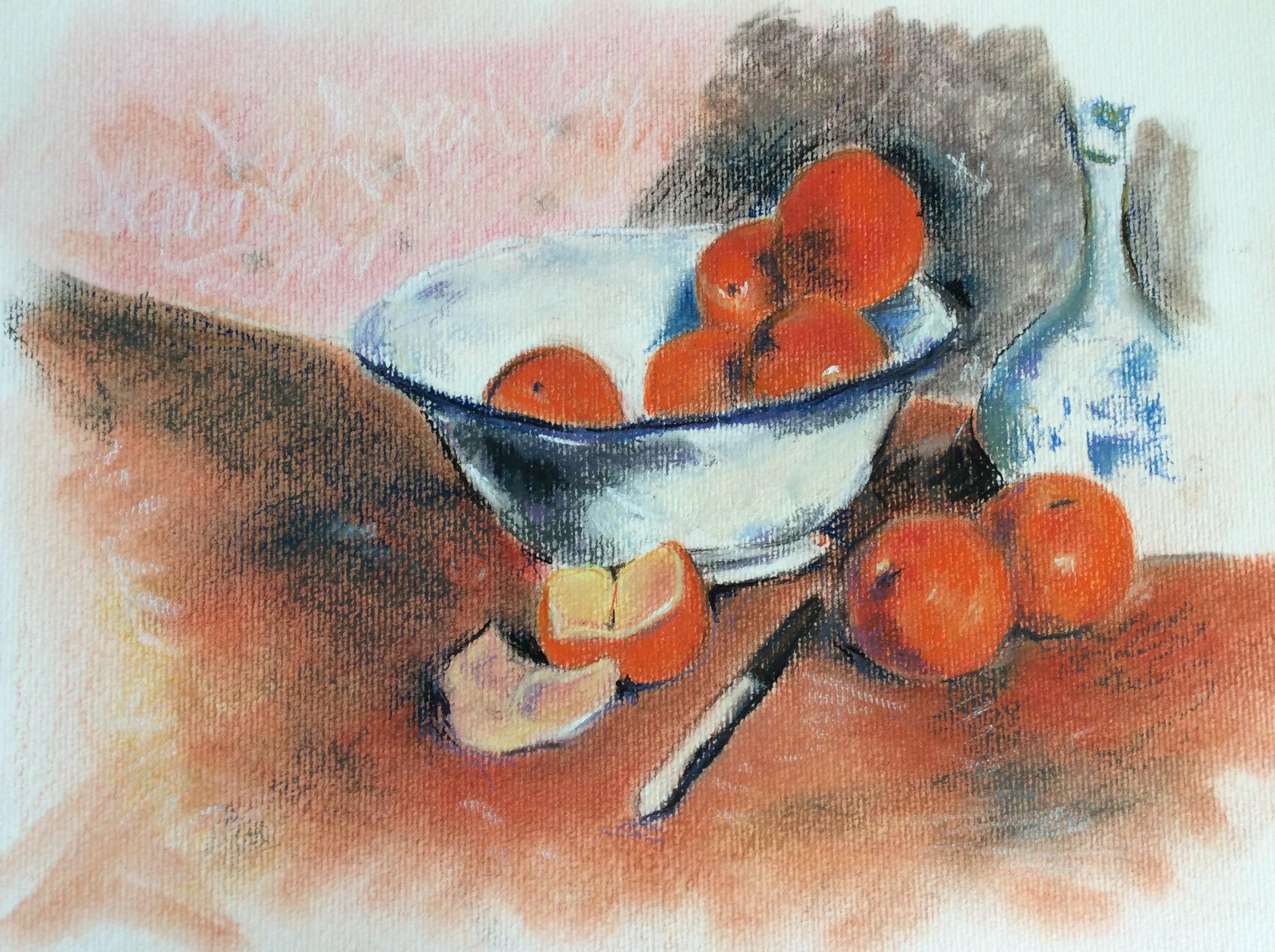 copie- Oranges de Gauguin- 30X40 - 160 €