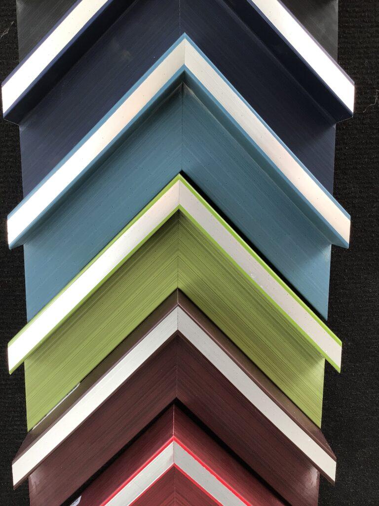les caisses US colorées